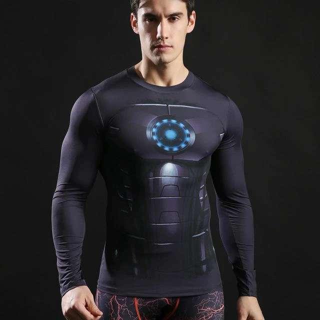 Imagen producto Camisetas De Manga Larga Ajustables De Superheroes 4