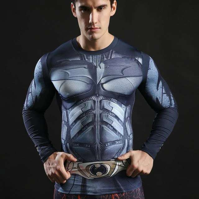 Imagen producto Camisetas De Manga Larga Ajustables De Superheroes 8