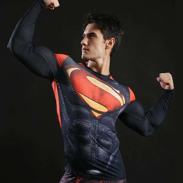 Imagen producto Camisetas De Manga Larga Ajustables De Superheroes 3