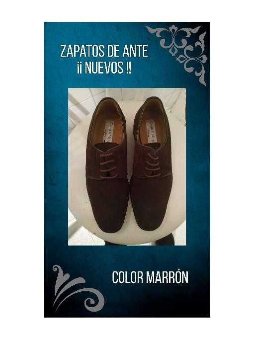 Imagen Zapatos de ante (Hombre).