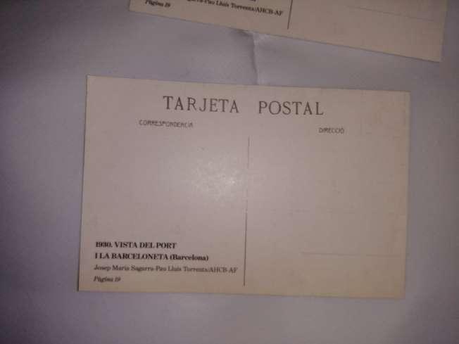Imagen producto Targetas postales antiguas de Barcelona  6