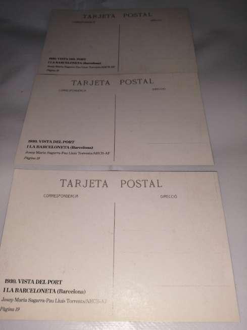 Imagen producto Targetas postales antiguas de Barcelona  5