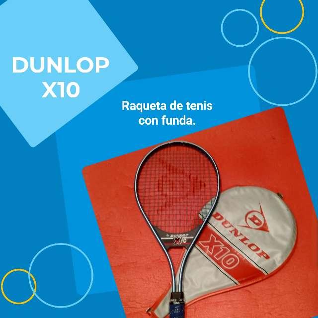 Imagen Raqueta de tenis Dunlop X10.