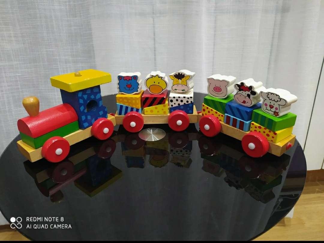 Imagen Tren de madera