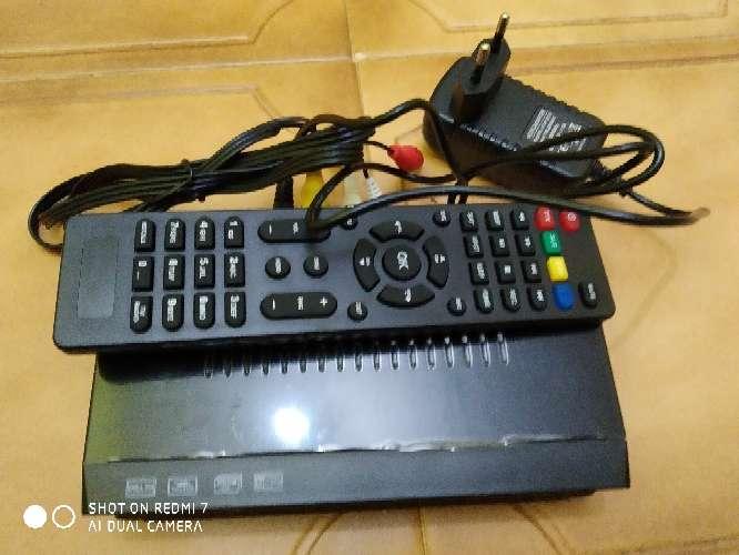 Imagen decodificador satélite receptor de TV digital