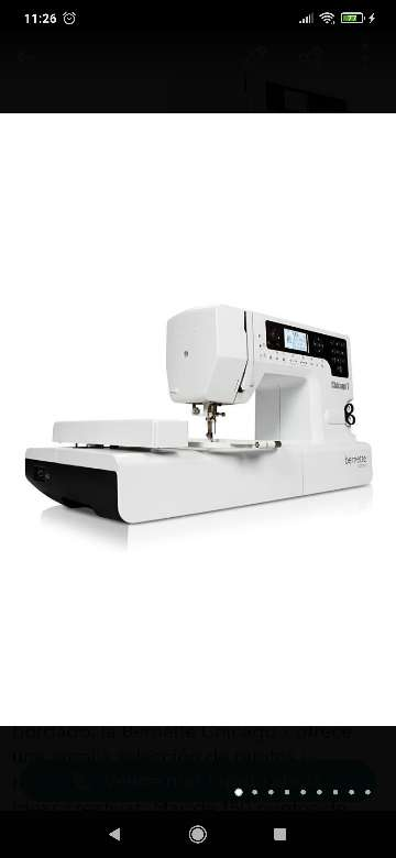 Imagen Máquina de coser y bordar