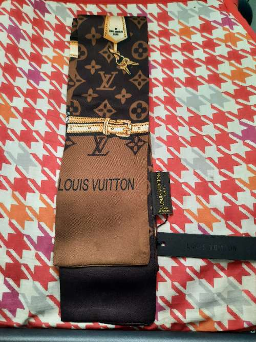 Imagen producto Bufanda Louis Vuitton marrón  3
