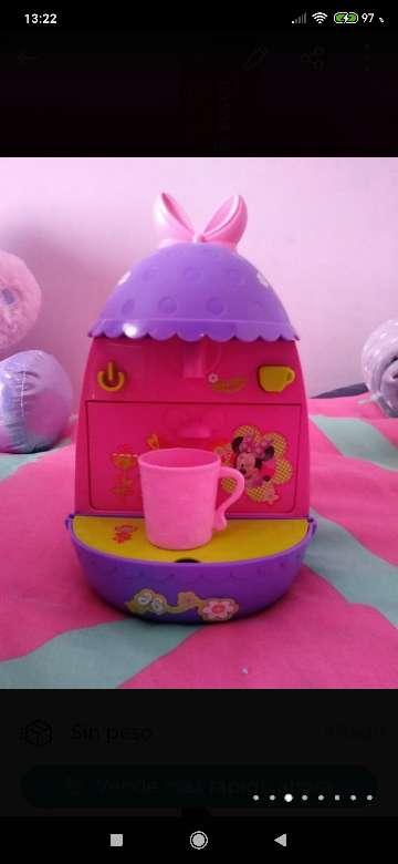 Imagen cafetera Minnie y microondas
