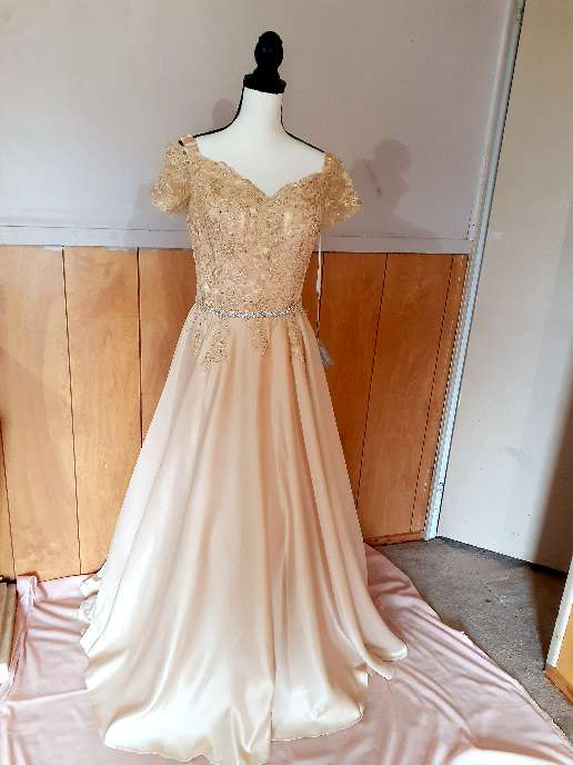 Imagen vestido largo elegante  Elegant long dress