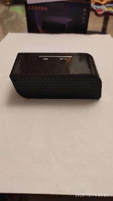 Imagen producto Camara espia IP wifi en reloj de sobremesa 6