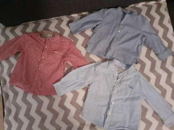 Imagen Camisas de bebe de 6 a 12