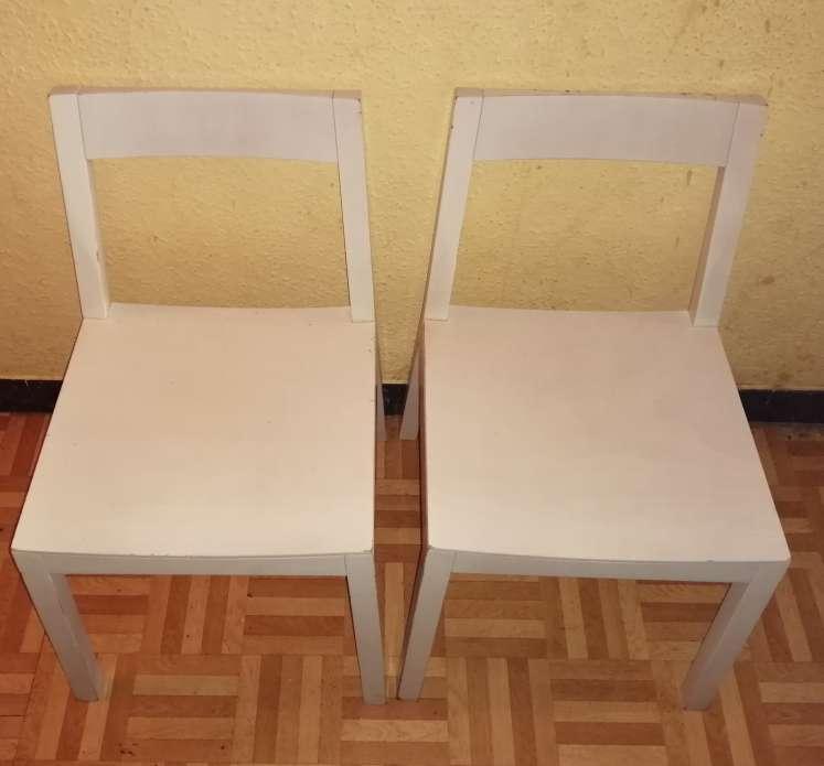 Imagen Pack de 4 sillas de madera