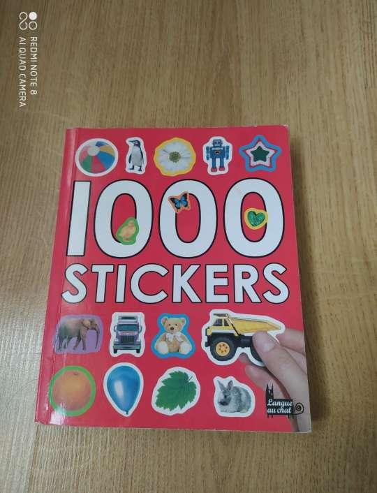 Imagen Francés: 1000 Stickers
