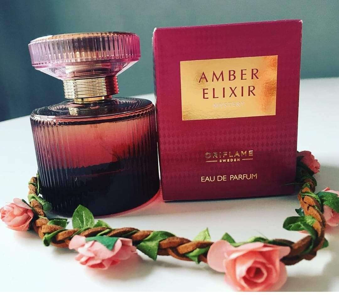 Imagen Perfume Amber Elixir Mistery aroma seductor