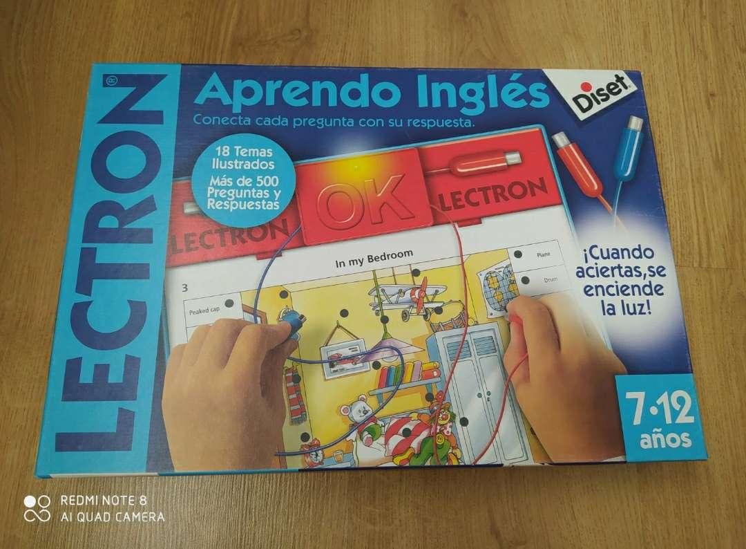 Imagen Lectrón Aprendo inglés 7-12 años