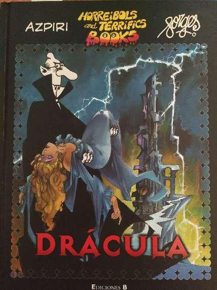 Imagen Drácula comic Integral de Azpiri y Borges