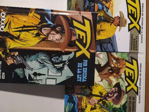 Imagen Tex, pack 3 comics Integrales