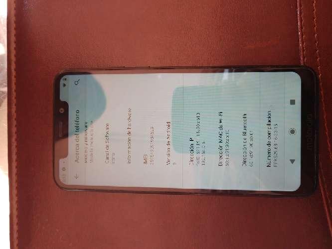 Imagen Celular Motorola one