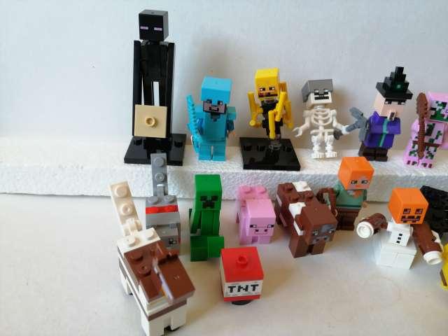 Imagen producto 16 Figuras Minecraft por 20€. Nuevas 2