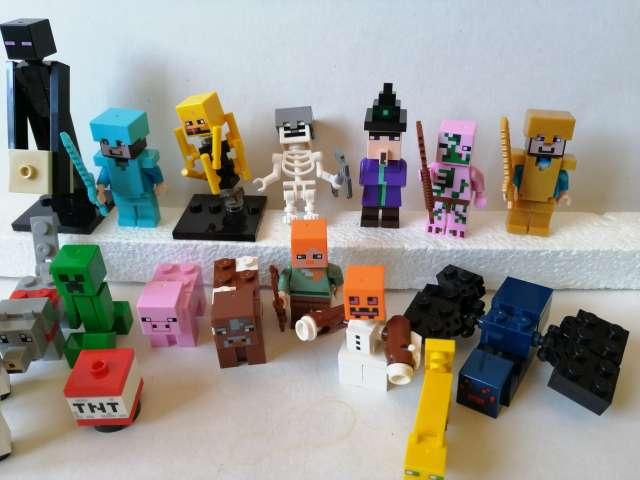 Imagen producto 16 Figuras Minecraft por 20€. Nuevas 3