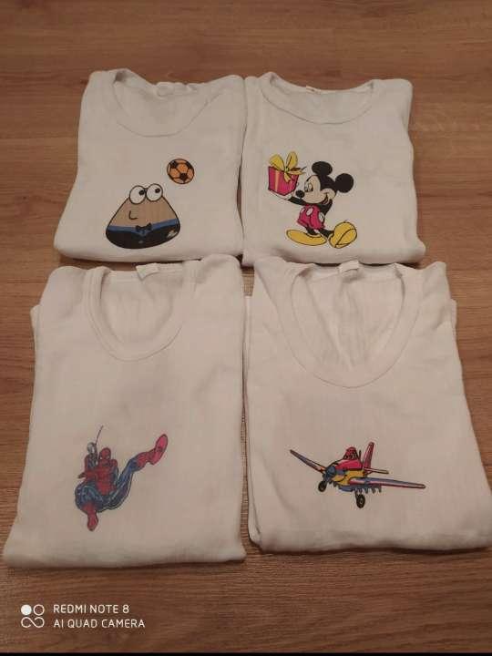 Imagen 4 camisetas de interior 5-6 años