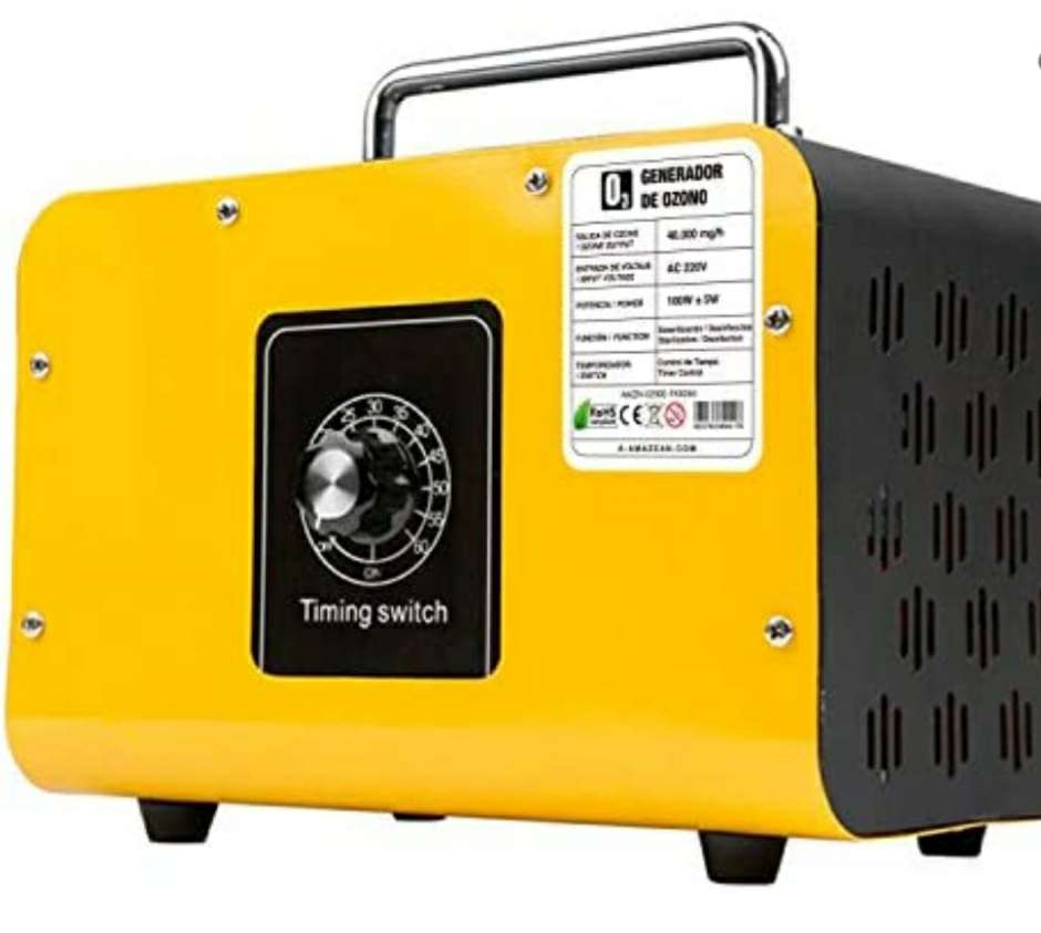Imagen generador de Ozono sin estrenar