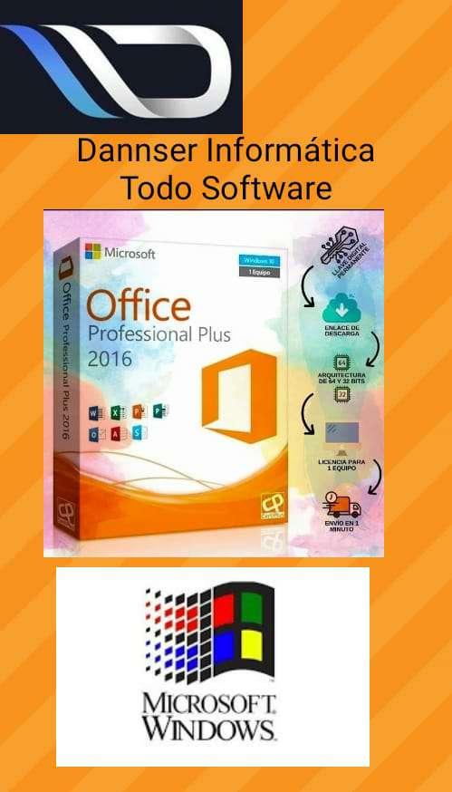 Imagen producto Office Profesional Plus 2016 Licencia Original 2