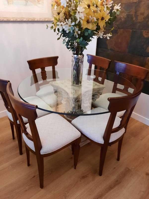 Imagen Vendo 6 sillas de madera maciza