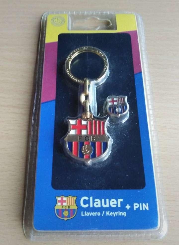 Imagen producto Llavero y pin oficial del Barça.  2