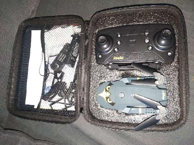 Imagen dron 4k+3 baterías y estuche