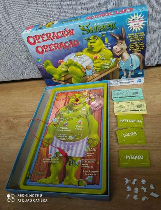 Imagen Juego Operación Shrek