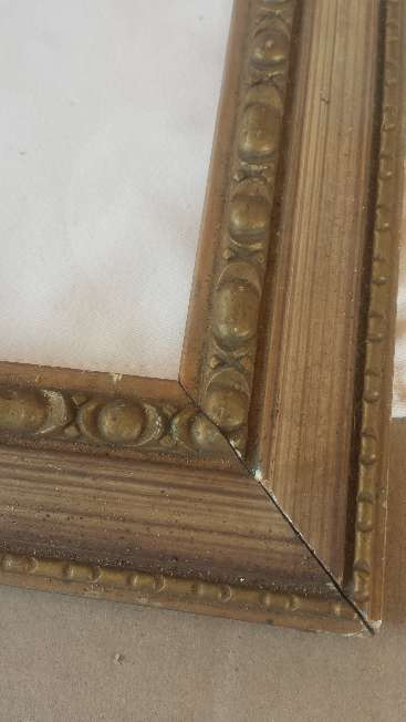 Imagen producto Litografias moldura dorada lamina virgen Cinco piezas 2
