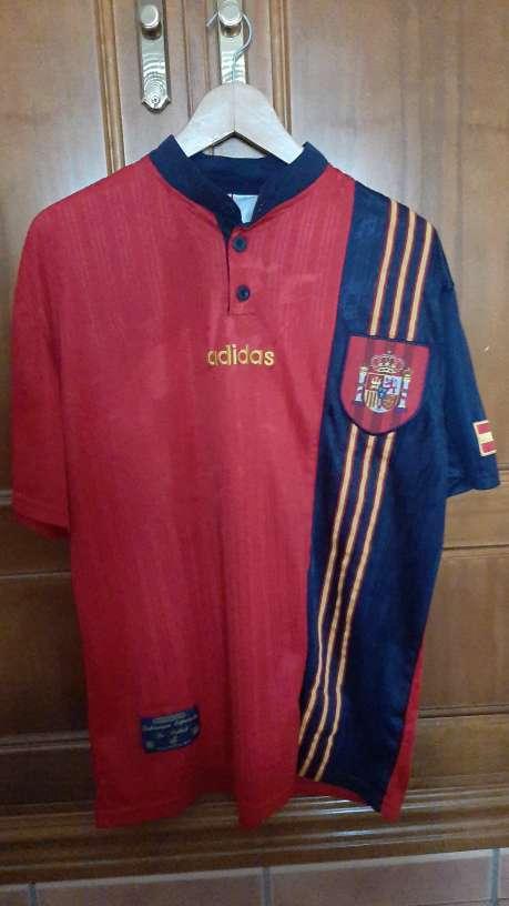 Imagen Camiseta España 1996
