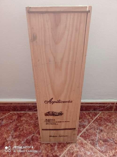 Imagen caja madera