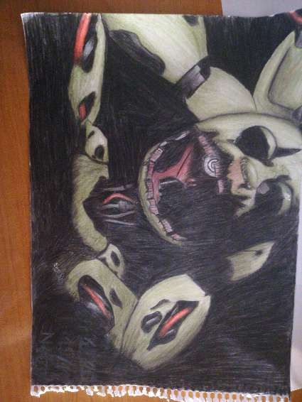 Imagen Vendo dibujos de Five nights at freddy's
