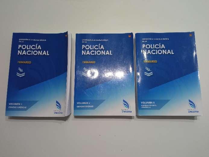 Imagen Vendo libros Oposición Policía Nacional