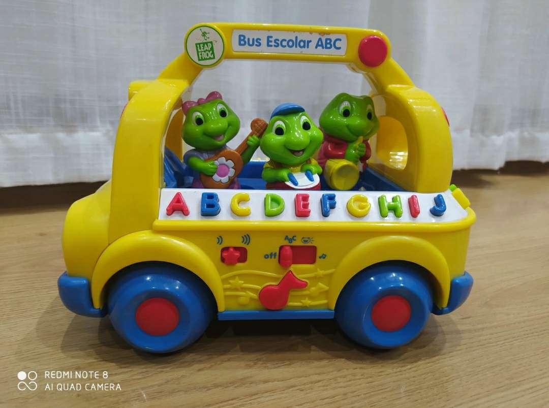 Imagen Bus escolar ABC Leap Frog