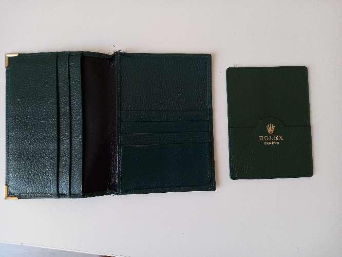 Imagen producto Rolex funda para pasaporte y tarjetas 3