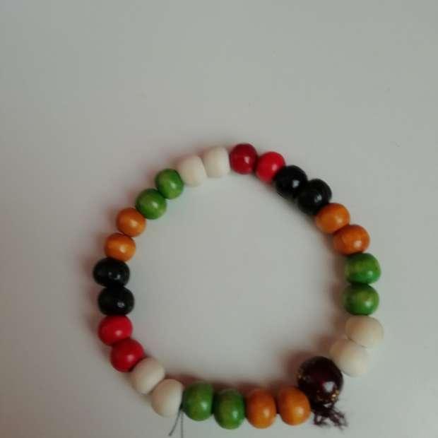 Imagen Pulsera bolas de colores