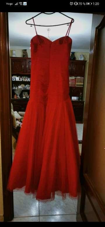 Imagen Vestido de princesa rojo