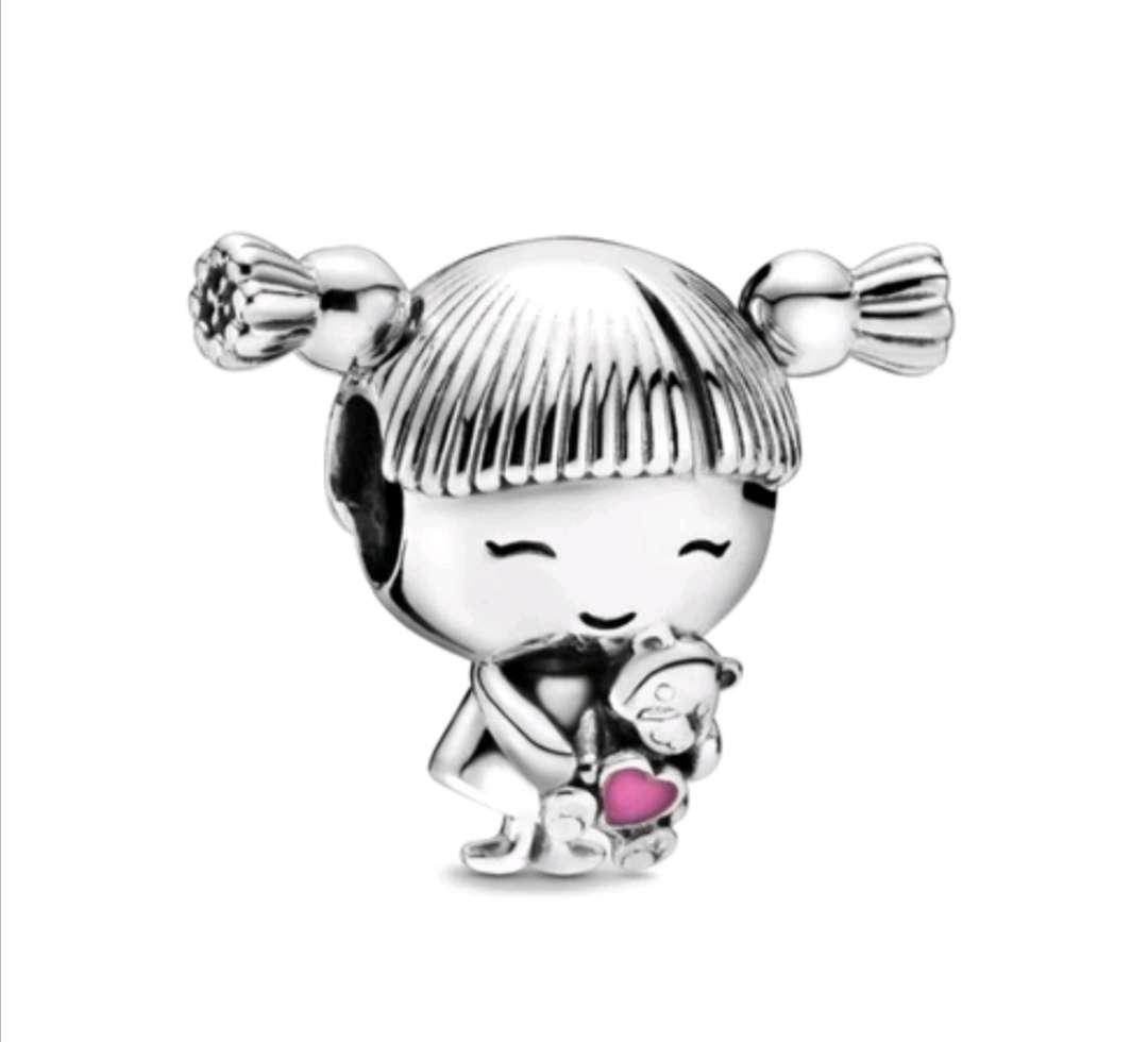 Imagen Charms - abalorio Niña para pulsera de Pandora, Plata de ley 925