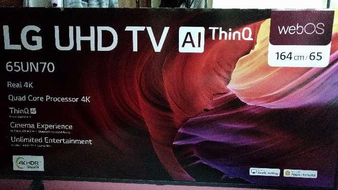 Imagen Smart TV LG 65 pulgadas