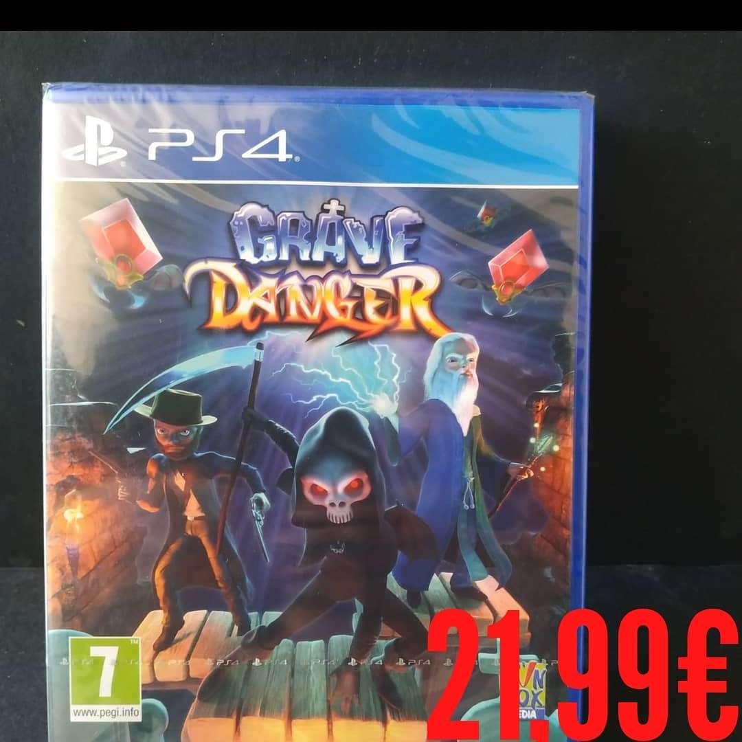 Imagen producto Grave Danger ps4 2