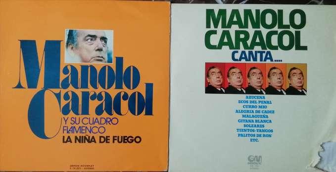 Imagen Discos vinilos MANOLO CARACOL