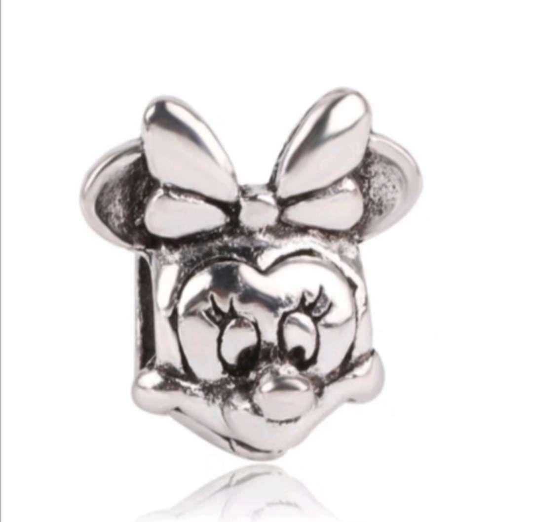 Imagen Charms - abalorio Minnie para pulsera de Pandora, bañado en Plata