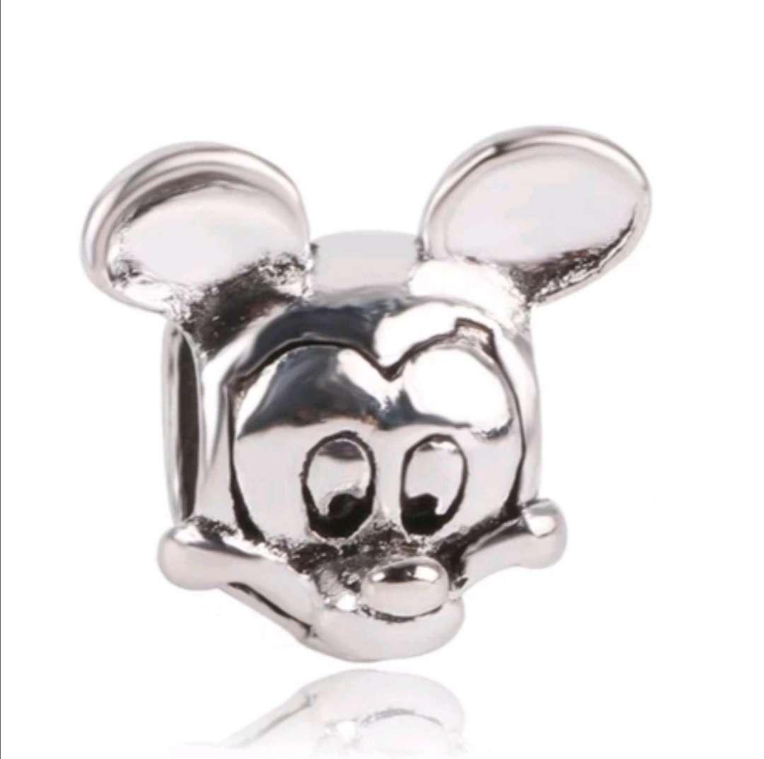 Imagen Charms - abalorio Mickey Mouse para pulsera de Pandora, bañado en Plata