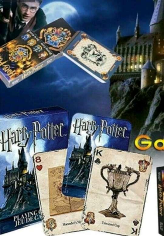 Imagen Baraja de 54 Cartas de Póker Harry Potter, edición especial - coleccionismo