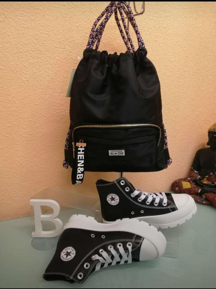Imagen Conjunto mochila y zapatos