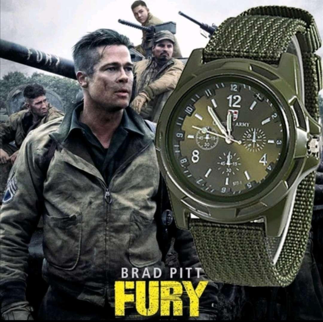 Imagen Reloj Cuarzo Verde Deportivo - Militar Brad Pitt, a estrenar