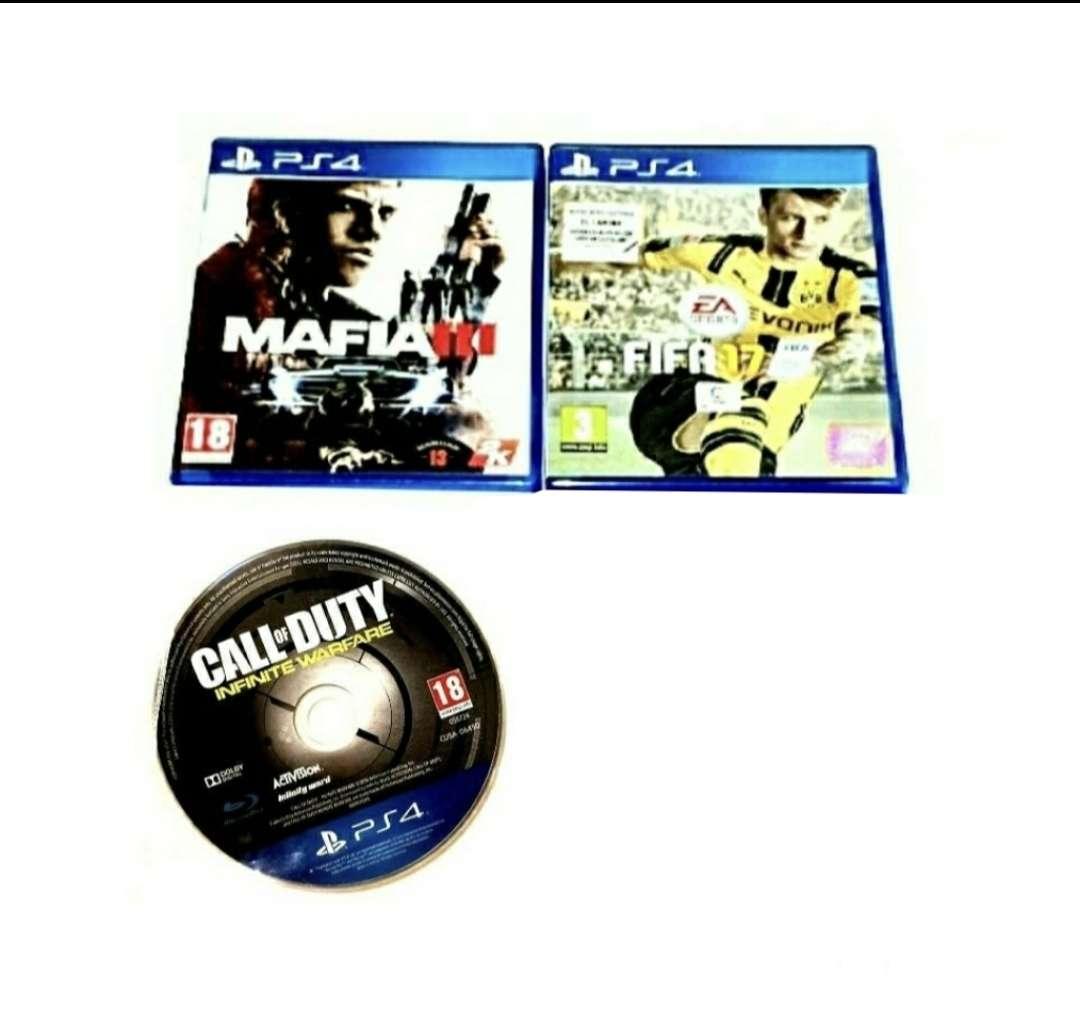 Imagen Lote De 3 Juegos Para PlayStation 4, PS4